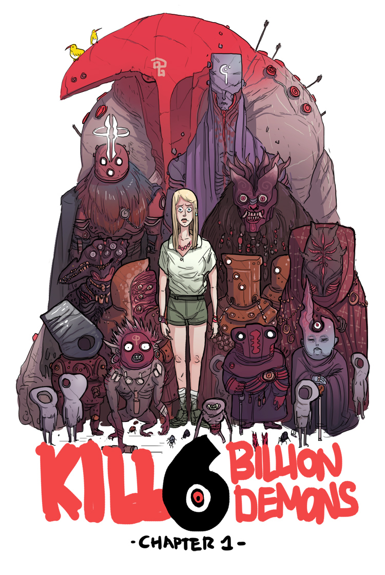 KILL SIX BILLION DEMONS – Chapter 1